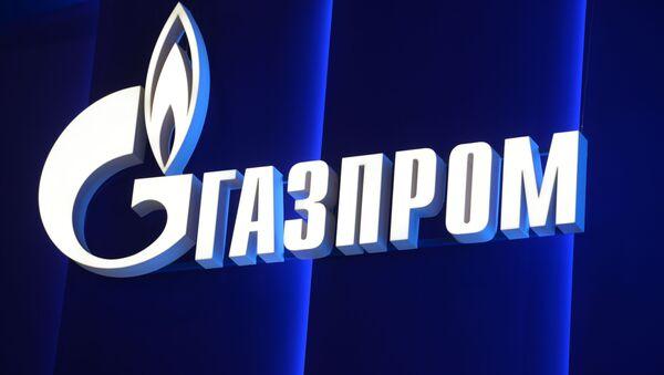 Логотип компании Газпром , архивное фото - Sputnik Таджикистан