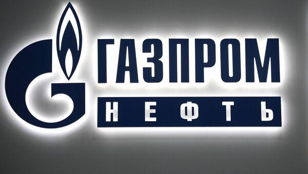 Логотип компании Газпром , архивное фото - Sputnik Тоҷикистон
