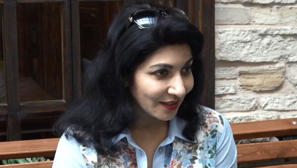 Нохид Зейналпур о творчестве и родине - Sputnik Таджикистан