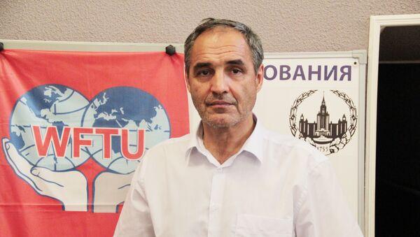 Председатель Профсоюза трудящихся мигрантов Ренат Каримов - Sputnik Таджикистан
