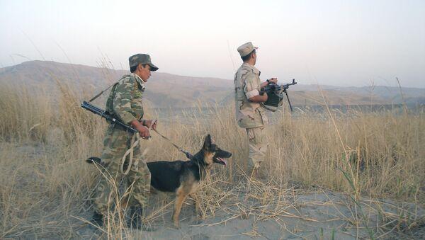 На таджикско-афганской границе, архивное фото - Sputnik Таджикистан