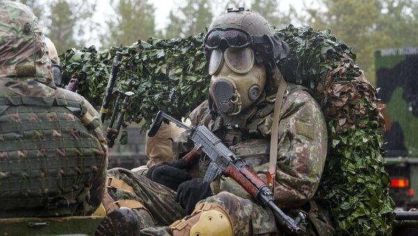 Международные военные учения НАТО, архивное фото - Sputnik Тоҷикистон