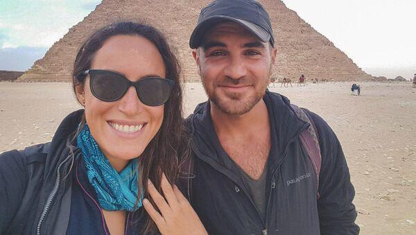 Погибшие американские туристы Lauren и Jay - Sputnik Тоҷикистон