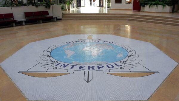 Символика организации интерпол, архивное фото - Sputnik Таджикистан
