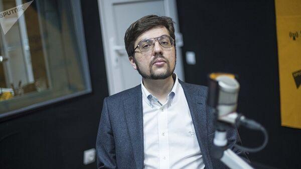 Никита Мендкович, архивное фото - Sputnik Таджикистан