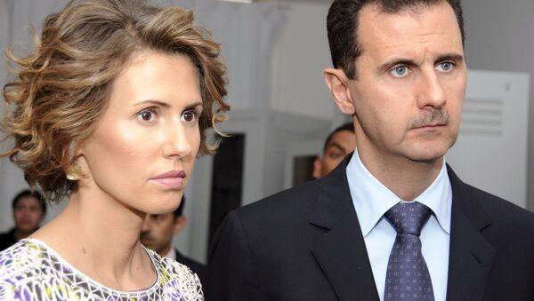 Жена президента Сирии Асма Асад - Sputnik Тоҷикистон