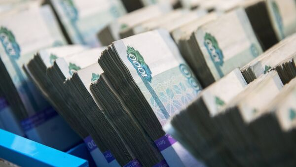 Банкноты российских рублей, архивное фото - Sputnik Таджикистан