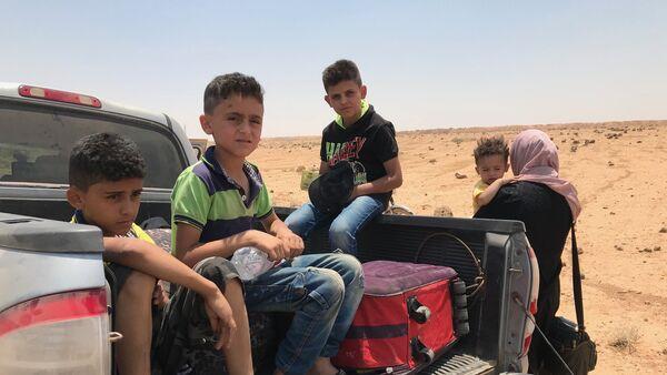 Сирийские войска вышли к границе с Иорданией в провинции Дераа - Sputnik Таджикистан