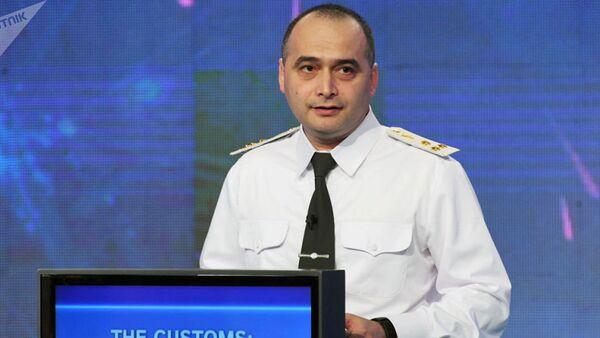 Заместитель председателя Таможенного комитета Узбекистана Жасур Арипов - Sputnik Таджикистан
