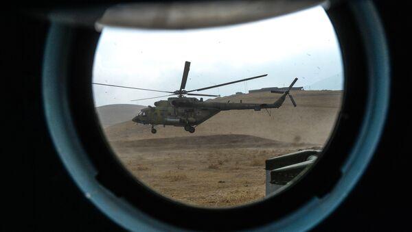 Вертолет Ми-8АМТШ, архивное фото - Sputnik Таджикистан