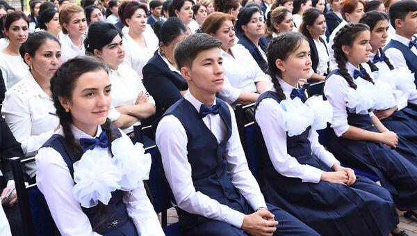 Школьники, архивное фото - Sputnik Таджикистан
