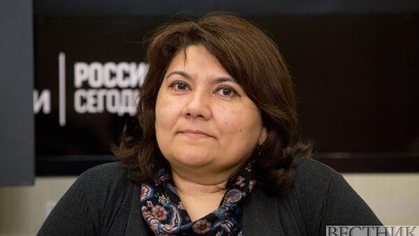 Ведущий научный сотрудник Института экономики РАН Зарина Дадабаева  - Sputnik Таджикистан