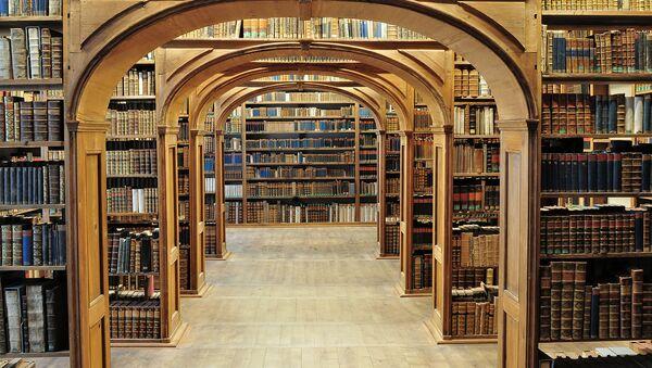 Верхнелужицкая научная библиотека в Герлице, Германия - Sputnik Тоҷикистон