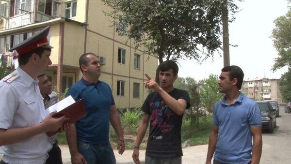 В Душанбе задержали людей подозреваемых в грабежах - Sputnik Тоҷикистон