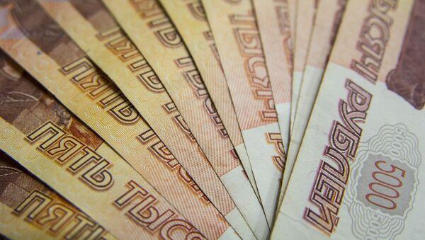 Банкноты достоинством пять тысяч рублей, архивное фото - Sputnik Таджикистан