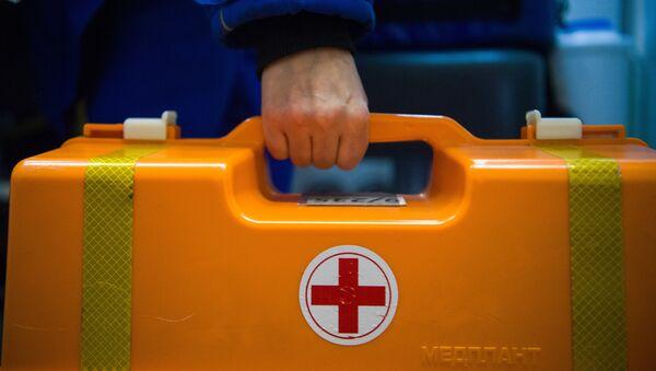 Аптечка на подстанции скорой и неотложной медицинской помощи, архивное фото - Sputnik Тоҷикистон