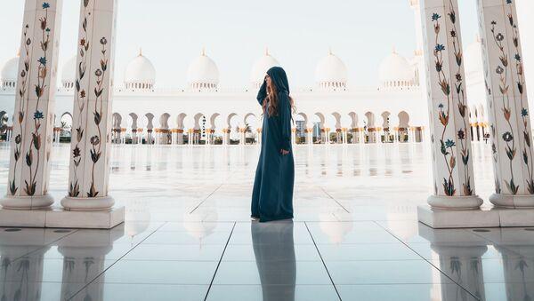 Мечеть шейха Зайда в Абу-Даби, ОАЭ - Sputnik Таджикистан