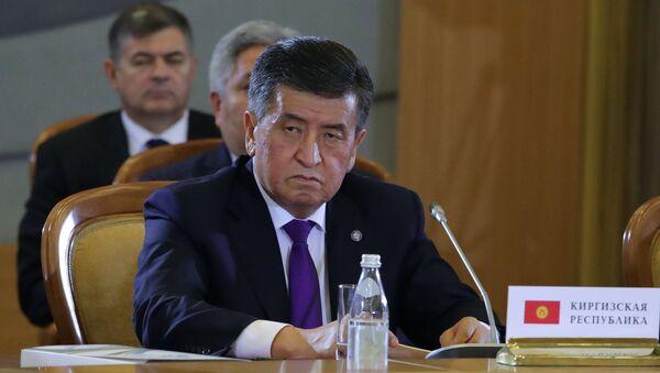 Президент Кыргызстана Сооронбай Жээнбеков, архивное фото - Sputnik Таджикистан