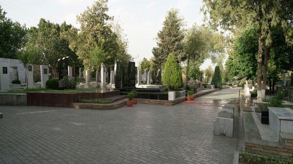 Кладбище в Самарканде, архивное фото - Sputnik Таджикистан