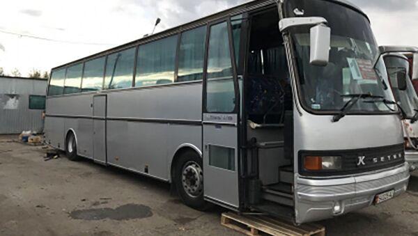 В Сургуте погиб водитель автобуса, архивное фото - Sputnik Тоҷикистон