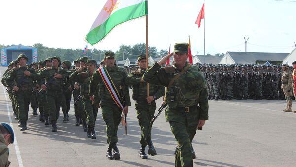 Военные учения ШОС Мирная миссия-2018 - Sputnik Таджикистан