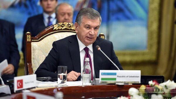 Шавкат Мирзиёев выступил на саммите в Иссык-Куле - Sputnik Таджикистан