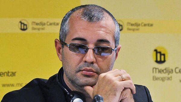 Секретарь Союза журналистов России, член исполнительного комитета Международной федерации журналистов Тимур Шафир - Sputnik Таджикистан