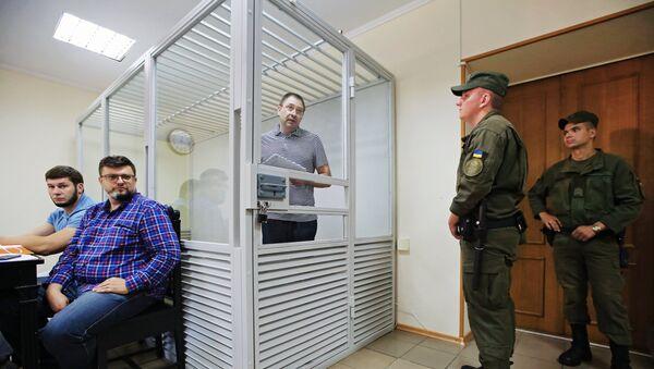 Рассмотрение апелляции по делу журналиста К. Вышинского - Sputnik Таджикистан