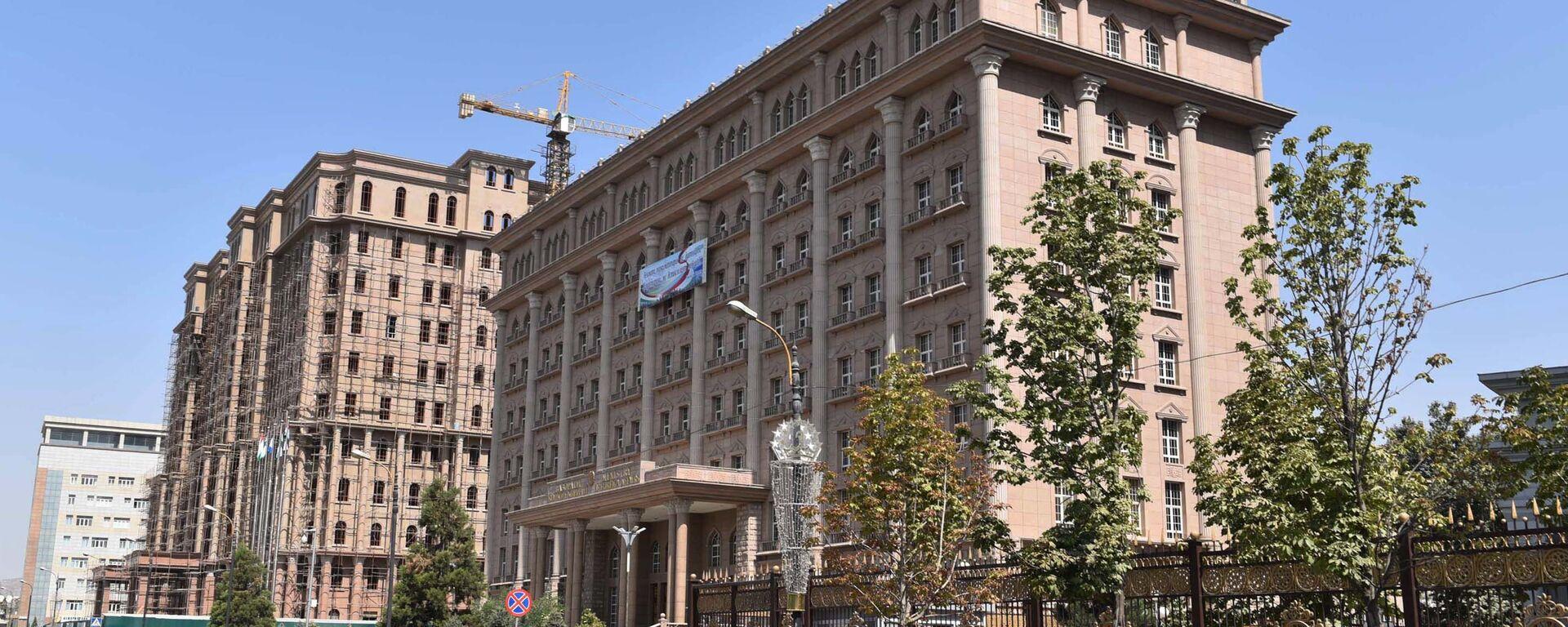 Здание МИД Таджикистана в Душанбе, архивное фото - Sputnik Таджикистан, 1920, 14.03.2020