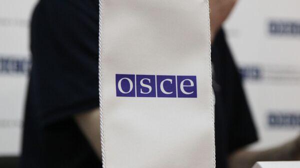 Логотип ОБСЕ, архивное фото - Sputnik Тоҷикистон