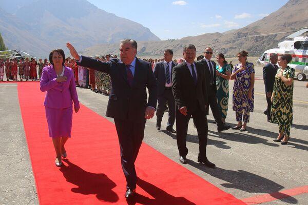 Эмомали Рахмон посетил ГБАО - Sputnik Таджикистан
