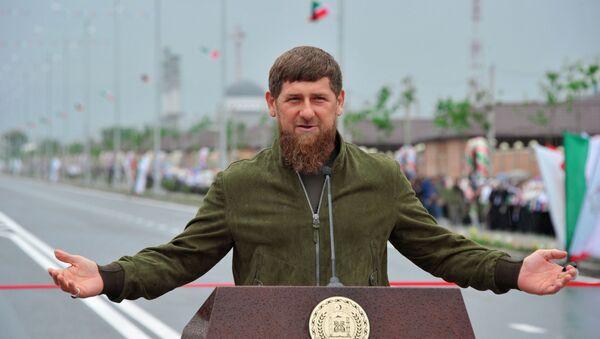 Глава Чеченской Республики Рамзан Кадыров - Sputnik Тоҷикистон