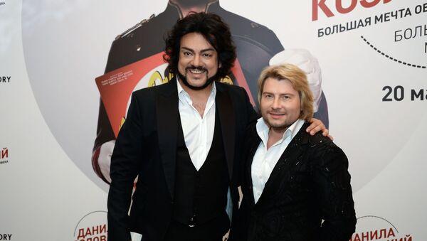 Певцы Филипп Киркоров и Николай Басков, архивное фото - Sputnik Таджикистан