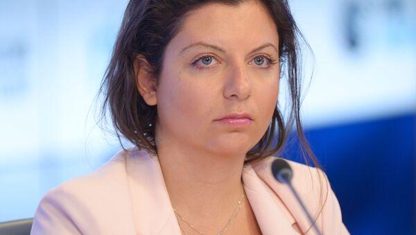 Главный редактор телеканала RT и МИА Россия сегодня Маргарита Симоньян, архивное фото - Sputnik Таджикистан