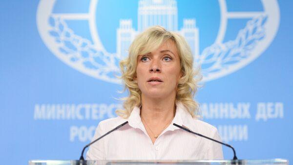 Брифинг официального представителя МИД РФ Марии Захаровой - Sputnik Таджикистан