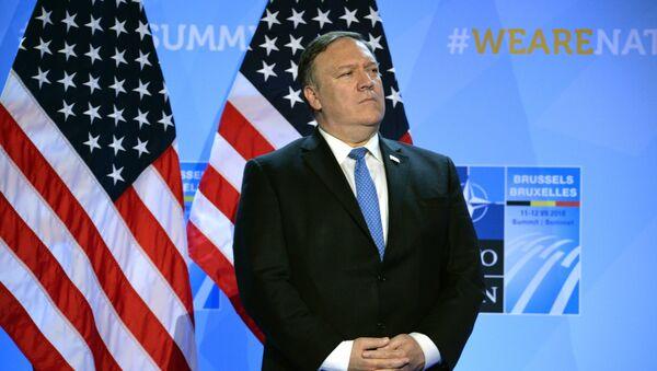 Государственный секретарь США Майк Помпео, архивное фото - Sputnik Таджикистан
