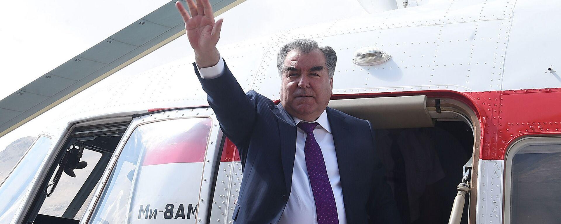 Президент Таджикистана Эмомали Рахмон, архивное фото - Sputnik Тоҷикистон, 1920, 23.09.2021