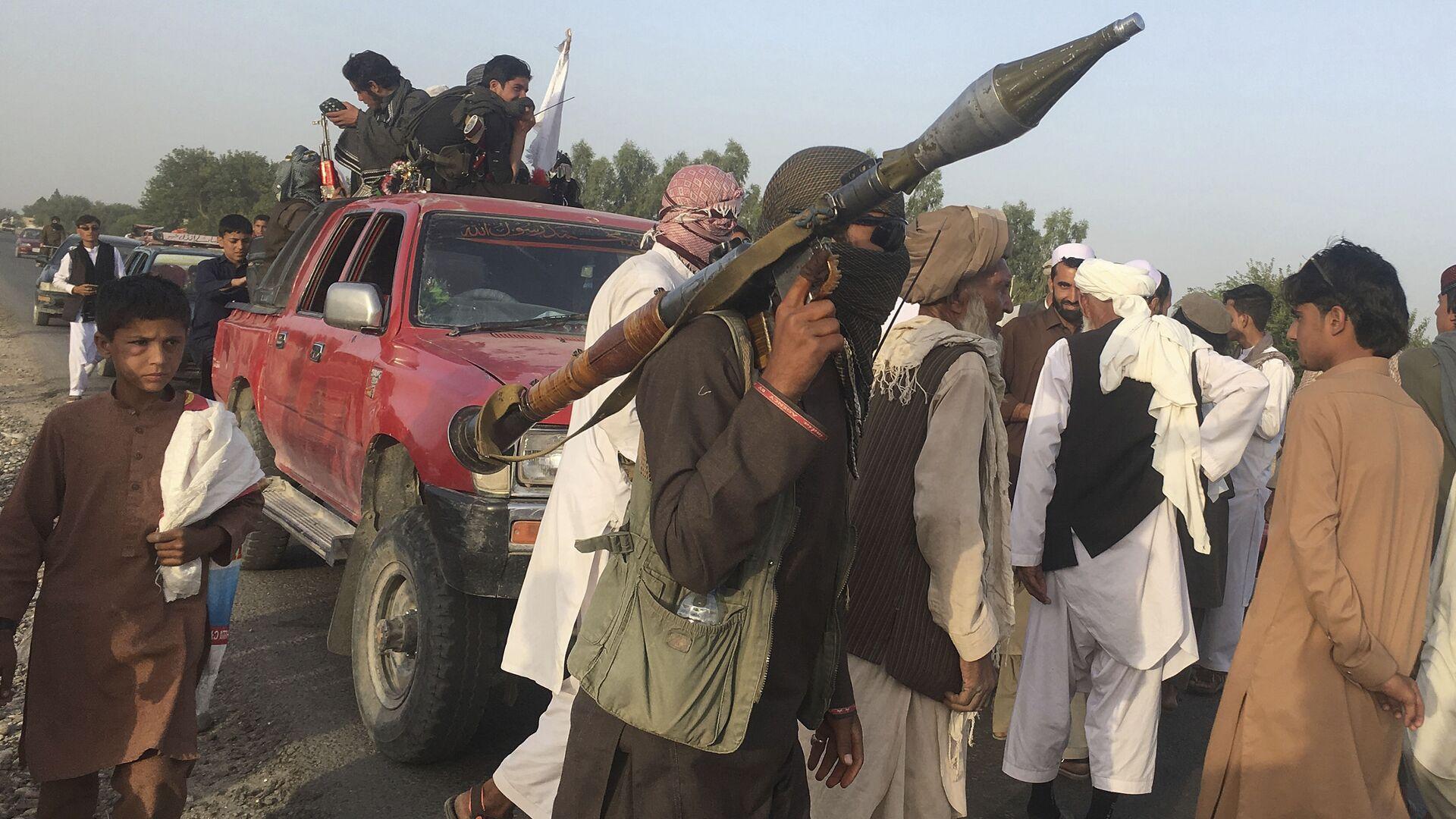 Боевики Талибан в провинции Нангархар на востоке Афганистана - Sputnik Таджикистан, 1920, 23.09.2021