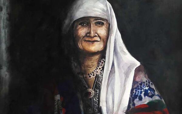 Картина художницы Марифат Давлатовой - Sputnik Таджикистан