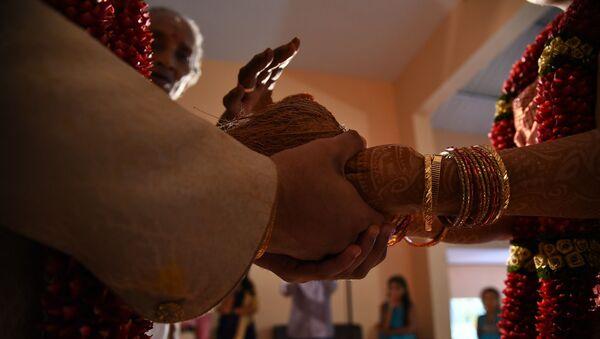 Свадьба в Индии, архивное фото - Sputnik Таджикистан