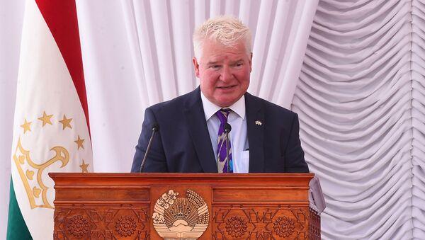 Посол Великобритании в Таджикистане Хью Филпот  - Sputnik Тоҷикистон