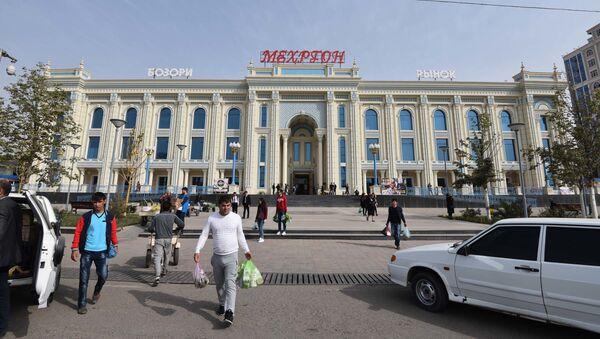 Рынок Мехргон в Душанбе, архивное фото - Sputnik Таджикистан
