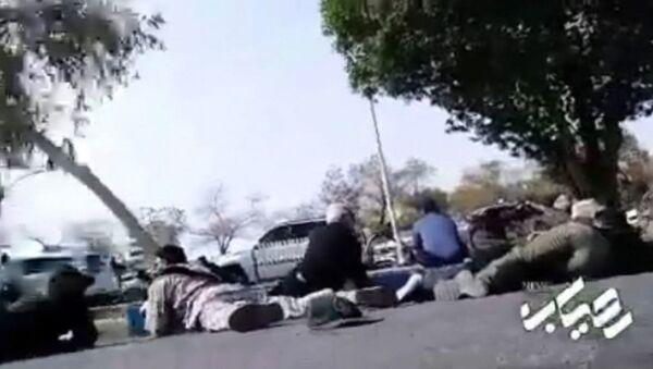 Страшные кадры теракта на военном параде в Иране - Sputnik Тоҷикистон