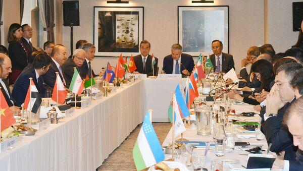 Заседание министров иностранных дел стран Китая, Киргизии, Афганистана и Пакистана - Sputnik Тоҷикистон