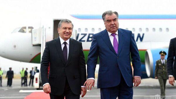 Президент Шавкат Мирзиёев прибыл в Таджикистан - Sputnik Тоҷикистон