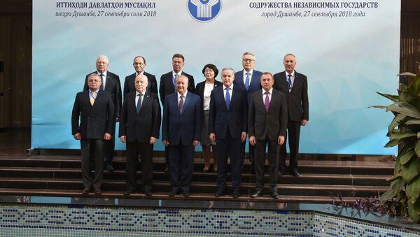 Участники заседания министров иностранных дел СНГ - Sputnik Тоҷикистон