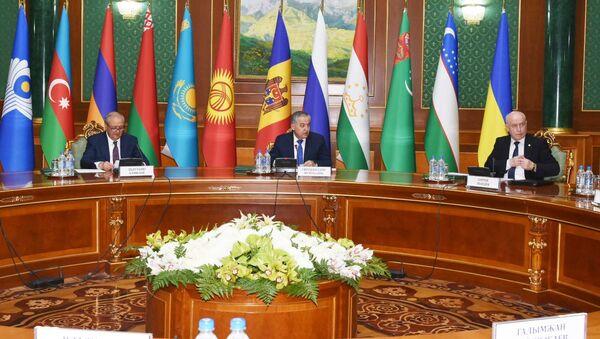 Заседания министров иностранных дел СНГ - Sputnik Таджикистан