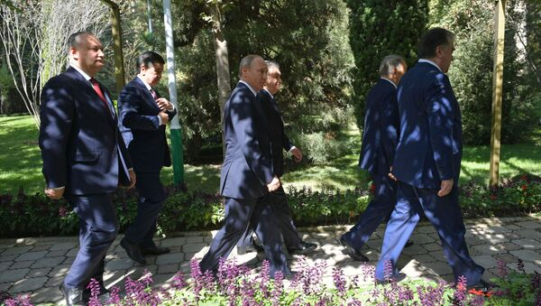 Заседание Совета глав государств СНГ в Душанбе - Sputnik Тоҷикистон