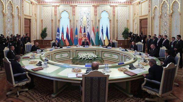 Заседание Совета глав государств СНГ, архивное фото - Sputnik Таджикистан