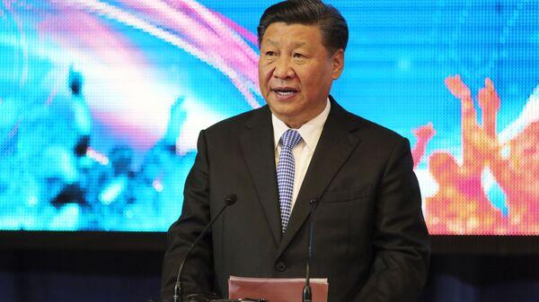 Председатель Китайской Народной Республики (КНР) Си Цзиньпин, архивное фото - Sputnik Тоҷикистон